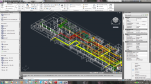 AutoCAD MEP - intelligentes Gebäudemodell